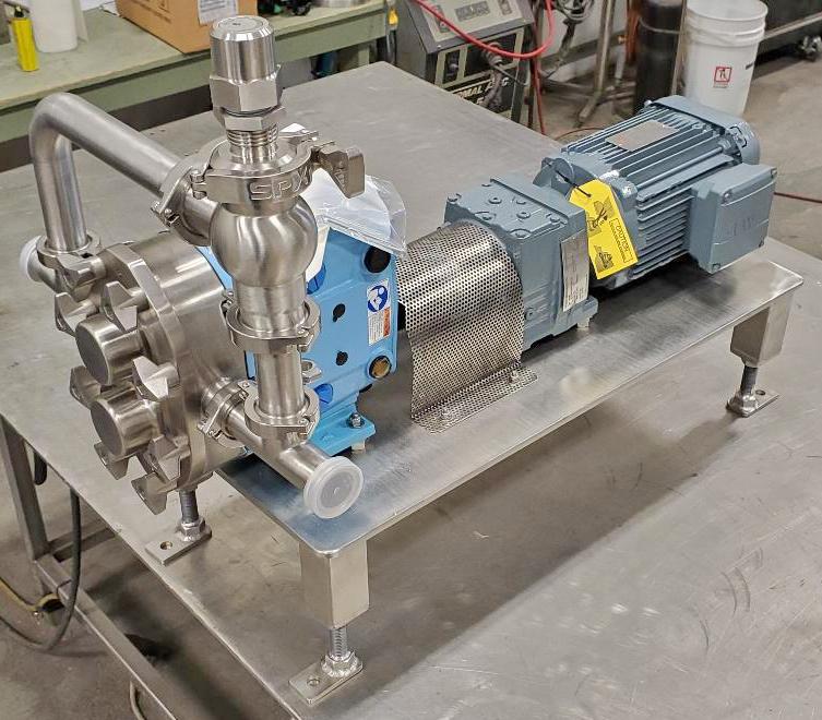 positive displacement pump cart custom design solutions
