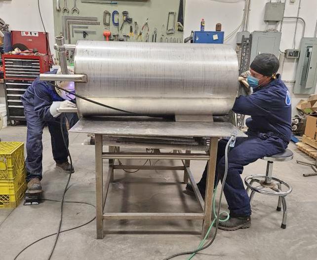 tank sanitary TIG welding solutions